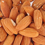 Tasty almond nuts Royalty Free Stock Photography