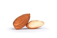 Tasty almonds nuts Stock Image