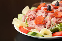 Tasty Antipasto Salad Royalty Free Stock Photo