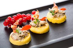 Tasty appetizer Royalty Free Stock Image