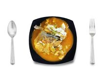 Tasty Asian food series royalty free stock photography