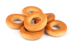 Tasty bagels Stock Images