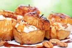 Tasty baked apples Stock Photos