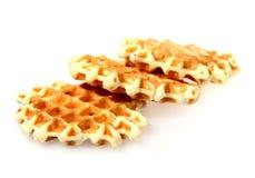 Tasty baking - waffle Stock Photography
