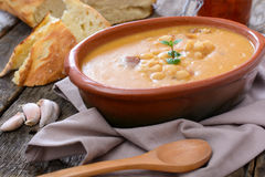 Tasty beans soup Stock Images
