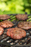 Tasty beef burgers Royalty Free Stock Image