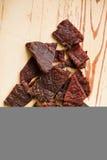 Tasty beef jerky Royalty Free Stock Photo