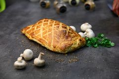 Tasty Beef Wellington stock photography