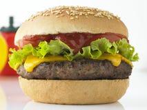 Tasty Beefburger Royalty Free Stock Photo