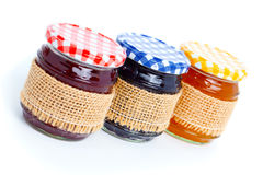 Tasty berry jam Royalty Free Stock Photo