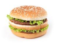 Tasty big hamburger Royalty Free Stock Photos