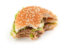 Tasty big hamburger Stock Photo