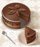 Tasty birthday cake Stock Image