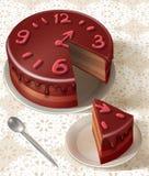 Tasty birthday cake Stock Photography