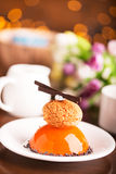 Tasty biscuit cake Royalty Free Stock Photos