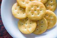 Tasty biscuits backgrond Stock Photos
