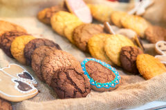Tasty biscuits Royalty Free Stock Photography