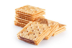 Tasty biscuits Royalty Free Stock Photo