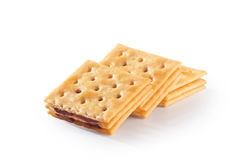 Tasty biscuits Stock Image