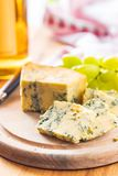 Tasty blue cheese. Stock Images