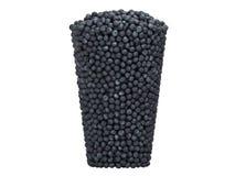 Tasty Blueberry Glass Shape Royalty Free Stock Photo