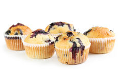 Tasty blueberry muffins Royalty Free Stock Photos