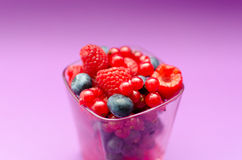 Bowl Of Summer Berries Royalty Free Stock Image