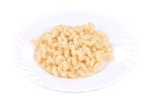 Tasty boiled italian pasta. Royalty Free Stock Photography