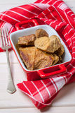 Tasty braised beef. Stock Photography