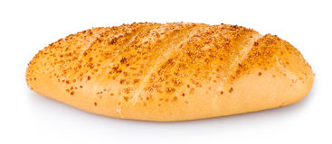Tasty bread with sesame seeds Stock Photos