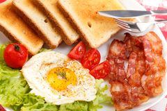 Tasty breakfast Royalty Free Stock Images