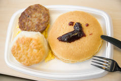 Tasty breakfast Royalty Free Stock Photography