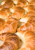 Tasty Breakfast - group of croissants Stock Images