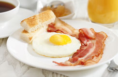 Tasty breakfast in the morning Royalty Free Stock Photography