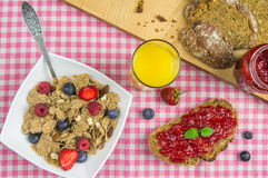 Tasty breakfast Stock Photos