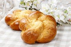 Tasty breakfast: sweet homemade buns Royalty Free Stock Photography