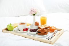 Tasty breakfast Stock Images