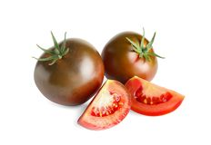 Tasty brown tomatoes Royalty Free Stock Photo