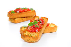 Tasty Bruschetta Royalty Free Stock Photo