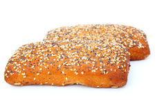 Tasty bun Stock Images