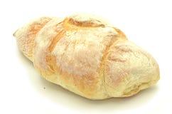 Tasty bun isolated on white Stock Photo