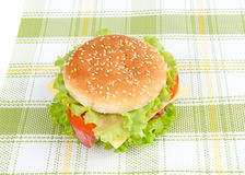 Tasty burger Royalty Free Stock Image