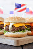 Tasty burger Royalty Free Stock Photos