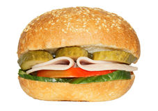 Tasty burger Royalty Free Stock Photography