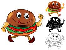 Tasty burger Stock Photo
