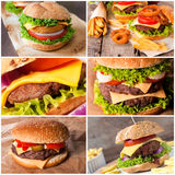 Tasty burgers Royalty Free Stock Photography