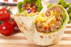 Tasty burrito Stock Photos