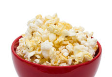 Tasty Butter Popcorn Stock Photo