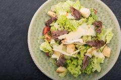 Tasty caesar salad Royalty Free Stock Image