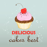 Tasty cake Royalty Free Stock Photography